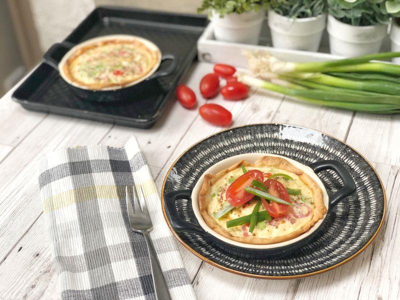 Tomato Egg Tarts